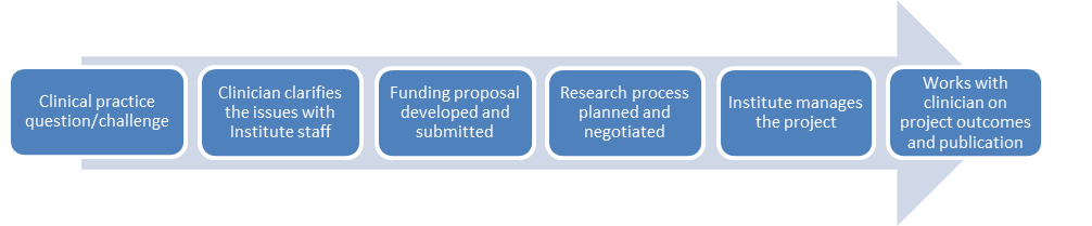 NZICHC Research process diagram 2013